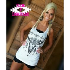 White Gypsy Tank · Bar T Boutique · Online Store Powered by Storenvy
