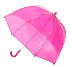 Totes- Pink Bubble Umbrella.  www.totes-isotoner.com