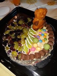 Nepečená torta ovocno-cukríková ;) Cereal, Breakfast, Food, Morning Coffee, Essen, Meals, Yemek, Breakfast Cereal, Corn Flakes