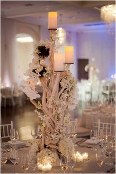 #Wedding #Reception Ideas: The Essence of Purple. To see more: www.modwedding.com