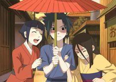 Hinata, Sasuke and Hanabi Naruto And Sasuke, Naruto Uzumaki, Naruto Anime, Naruto Funny, Sakura And Sasuke, Hinata Hyuga, Itachi, Mago Anime, Anime English