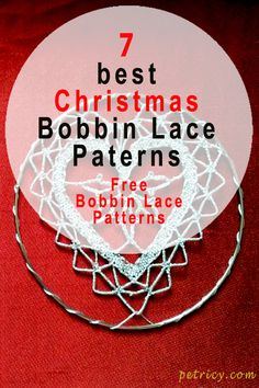 Finally came the day. Selection of seven Christmas Bobbin Lace Patterns for free is ready for you to receive. Hairpin Lace Crochet, Crochet Motif, Crochet Shawl, Crochet Edgings, Bobbin Lace Patterns, Cross Patterns, Bobbin Lacemaking, Lace Decor, Lace Earrings