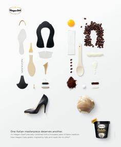 [Texas Creative Alumni] - Jonathan Pelleg is an impressive alumni and I really like his Haagen Daz campaign because its so simple yet visually intriguing - it makes your mind work to put the puzzle pieces together, but doesn't take too long.