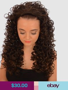 Hair By MissTresses Hair Rollers, Curlers & Perm Rods Health & Beauty Medium Permed Hairstyles, Loose Hairstyles, Spiral Curls, Half Wigs, 360 Lace Wig, Free Hair, Human Hair Wigs, Hair Pieces, Curly Hair Styles