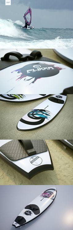 Flikka Board Design #Windsurf #Boards Windsurfing, Surfboard, Boards, Clothing, Shopping, Design, Planks, Outfits, Kleding