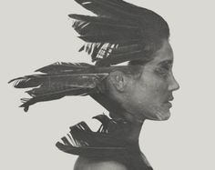 Balancing Act Fine Art Photography Surreal Black by KateMaldonado