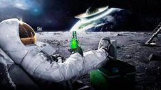 Sélection de la semaine, #WTF, #Cosplay, #Geek, #FunFacts, #Design, #Photographie, #Vrac - Marketing – Publicité Carlsberg Astronaute