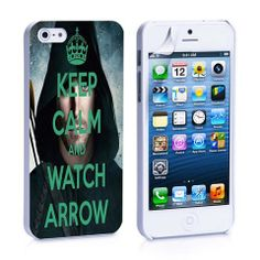 Keep Calm and Watch Arrow iPhone 4, 4S, 5, 5C, 5S Samsung Galaxy S2, S – iCasesStore