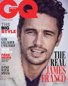 James Franco para GQ Australia por Matthew Brookes - Male Fashion Trends