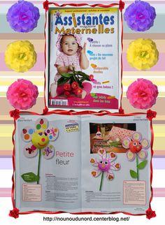 Création pour le magazine assistantes maternelles N°101