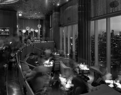 Matthew Pillsbury  Cocktails at the Top of the Standard, The Standard Hotel, New York (2011)