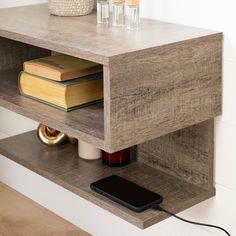 Rustic Nightstand, Floating Nightstand, Nightstand Ideas, Bedside Tables, White Nightstand, Bedside Table Ideas Diy, Floating Table, Floating Shelves, Bedroom Night Stands