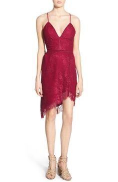 NBD 'Only One' Strappy Lace Sheath Dress available at #Nordstrom