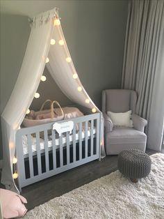 Grey nursery diy
