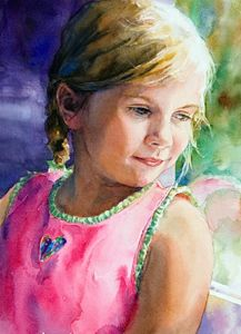 Peggi Habets | Watercolor Portrait