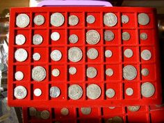 very organized | coin collecting