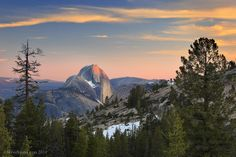 Half Dome Olmstead Point Yosemite by Steve Sieren Photography, via Flickr