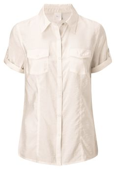 Textured Blouse in Ivory, reference code T124. www.damart.co.uk