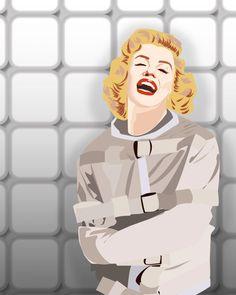 Marilyn Monroe Looney Bin by JohnBVisualDesign on Etsy