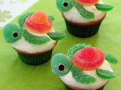 Cupcakes tortues • Hellocoton.fr