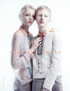 Proenza Schouler Campaign SS 2011 - Melissa Tammerijn and Julia Nobis by Willy Vanderperre