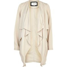 Look to trench coats and denim jackets this spring/summer. Shop women's coats and jackets here. Pu Jacket, Leather Jacket, Waterfall Jacket, Shopping Day, Winter Coats Women, College Fashion, Jackets For Women, Casual Outfits, Style Inspiration