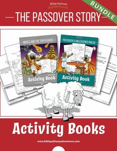 Moses and the Ten Plagues printable Bible Activity Book for Kids. Learn all about the Ten Plagues, the Passover, and Unleavened Bread. Bible Activities For Kids, Kids Activity Books, Map Activities, Drawing Activities, Comprehension Activities, Bible Games, Preschool Bible, Toddler Activities, Lessons For Kids
