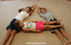 ABC Gross Motor Practice--Charades!