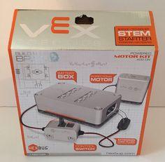 HEXBUG VEX Robotics STEM Starter Kit Powered Motor Add On Motorize Motor Build #Hexbug