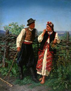 """"""" Bilya plotu"""" by Konstantyn Trutovs'kyi, Ukraine, from Iryna with love"""
