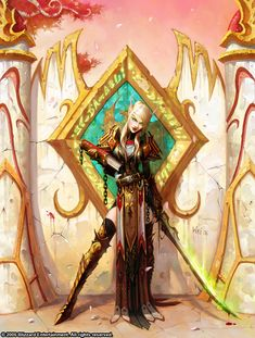 Warcraft - Blood Elf girl