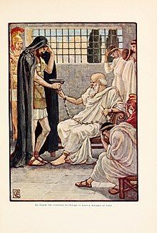 He drank the contents as though it were a draught of Wine - Walter Crane Athenian Democracy, Better Off Dead, Walter Crane, University Of Toronto, Socrates, Pre Raphaelite, Art Database, Trials, Wine