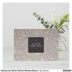 Hotel Gift Cards, Beauty Clinic, Gift Vouchers, Business Gifts, Gift Certificates, Silver Glitter, Holiday Cards, Clip Art, Place Card Holders