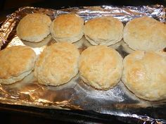 Easy Homemade Biscuits  2½ cups of self-rising flour 2 teaspoons of sugar ½ cup of butter or shortening  ¾ to 1 cup of buttermilk or milk
