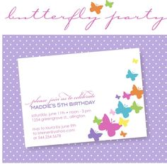 Winks & Daisies: Butterfly Themed Birthday Party