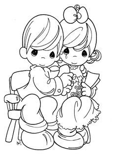 Precious Moments Coloring Pages Are Being Embraced