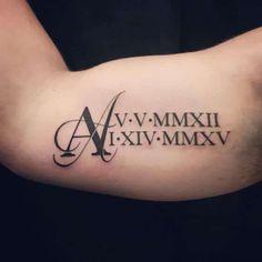 roman-numeral-tattoos-39