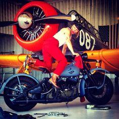 Women of Harley-Davidson   Tatoué Harley
