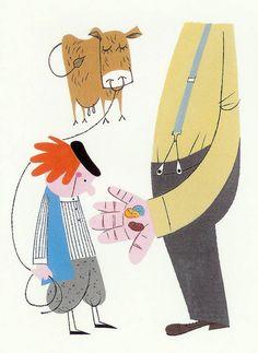 Jack and the beanstalk. Akira Sorimachi.