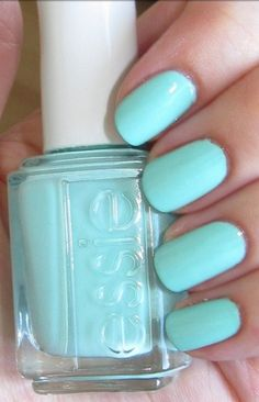 Mint Candy Apple! I love Essie! Finally bought it and it's such a gorgeous nail color
