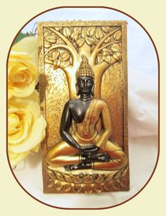 New Goodies Just In...Bodhi Tree Buddha...  http://mystical-moons-at-the-auctions.myshopify.com/products/laxmi-on-lotus-statue-goddess-of-prosperity-luck-beauty-courage-fertility-1?utm_campaign=social_autopilot&utm_source=pin&utm_medium=pin Come Discover Your Mystical Side