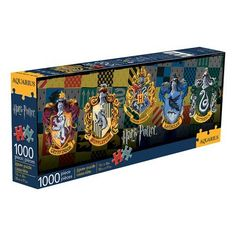 Harry Potter House Crests Puzzle 1000-Piece