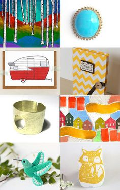 Summer Brights by Ms.B' on Etsy--Pinned with TreasuryPin.com