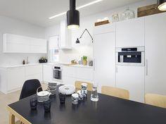 kaunis keittiö, blogista moderni puutalo