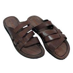 Man leather sandals. Shop link www.sandalishop.it