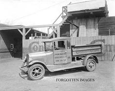 Construction Dump Truck Puncture Proof Tire 1920s. 8x10 photo print. $12.95.