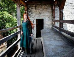 Promotion de Noël Robe de Viking Helga tablier de