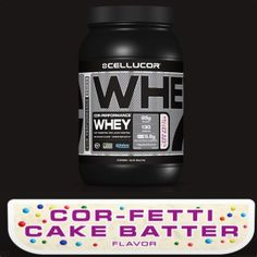 Cellucor Cor-Fetti Cake Batter Whey w/ sprinkles in it!!!  Need this ASAP!!!