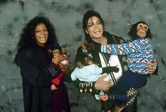 MJ, Diana, and the monkeys!