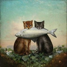 """ Enjoy your dinner "" .......by Christian Schloe"
